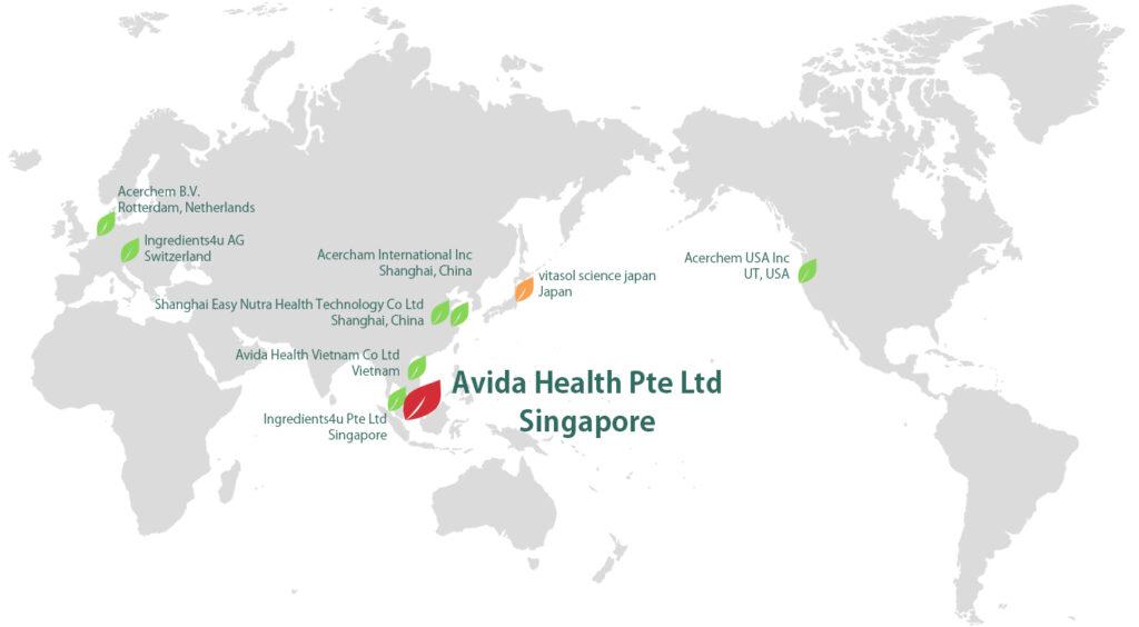 ビタソル サイエンス ジャパン(vitasol science japan)Avida Health ネットワーク